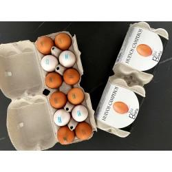 Estuche de 12 Huevos...